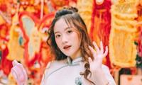 Nữ sinh 10X gây thương nhớ trong bộ ảnh đón Trung thu trên phố Hàng Mã