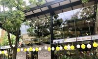 Trường CĐ nghề Công nghệ cao Hà Nội khai trương quán cafe đẹp mê ly ngay trong khuôn viên