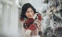 Xóa tan lạnh giá mùa Giáng sinh với ánh mắt đầy ấm áp của cô nàng Hà Tĩnh