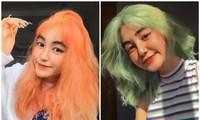 Nữ sinh thay đổi màu tóc mỗi tuần