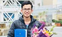 Phó Chủ tịch Hội Sinh viên Campuchia tại Việt Nam đang học tại Đại học Xây dựng