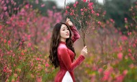 """Duyên dáng trong tà áo dài, 9X Phú Thọ """"xinh như mộng"""" trước thềm năm mới"""