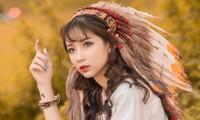 Hồn nhiên và phóng khoáng, cô gái 19 tuổi gây ấn tượng với bộ ảnh Bohemian