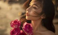 Vẻ đẹp hút hồn của hot girl Đắk Lắk dưới ánh hoàng hôn