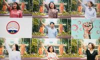 Giảng viên trường Báo thành ca sĩ trong MV ca nhạc 'AJC thời Cô Vy'