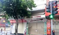 Thủ phủ bánh đậu xanh Hải Dương cửa đóng then cài vì dịch COVID 19