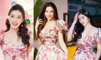 """Được bốn mỹ nhân Việt """"đụng hàng"""", chiếc váy hoa này có gì đặc biệt đến thế?"""