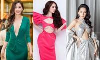 Mỹ nhân Việt ngày càng táo bạo với những mẫu váy triệt để khoe đôi gò bồng đảo