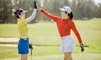 Ngọc Hân, Jennifer Phạm bất ngờ thân thiết như chị em nhờ cùng đam mê chơi golf