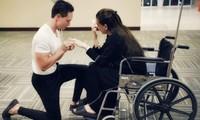 Có ai như Hồ Ngọc Hà: Ngồi xe lăn nhận lời cầu hôn xúc động từ Kim Lý