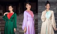 Dàn Hoa hậu, Á hậu xinh đẹp rạng ngời bất chấp trang phục mỏng manh giữa trời lạnh giá