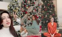 Choáng ngợp nhìn sao Việt trang trí nhà cửa mùa Noel: Sang xịn như khách sạn 5 sao