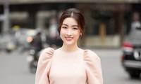 Hoa hậu Đỗ Mỹ Linh chuyển nghề thiết kế áo dài: Người đâu đã đẹp lại còn tài năng