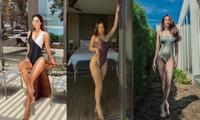Muốn bỏng mắt với những bộ bikini khoét cao hết cỡ của dàn mỹ nhân Việt