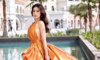 """Hoa hậu Đỗ Mỹ Linh nói gì khi bị nghi """"lộ hàng"""" vì chiếc váy quá táo bạo?"""