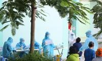 Bà Rịa-Vũng Tàu xét nghiệm tầm soát COVID-19 cho người dân.