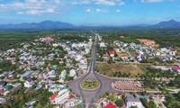 Phong tỏa toàn bộ 110.000 dân thị xã La Gi từ 24/7. Ảnh: N. L.