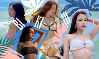 Ninh Dương Lan Ngọc, Chi Pu cùng dàn mỹ nhân Việt hút mắt với bikini đủ màu sắc