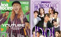 """Ở nhà vẫn """"chill"""" cùng Hoa Học Trò 1363, tặng ngay fanbook khổ lớn Horoscope Idol Cự giải"""