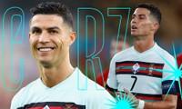 Vì sao Cristiano Ronaldo thay áo dài tay thành ngắn tay vào giữa 2 hiệp trong trận với Bỉ?
