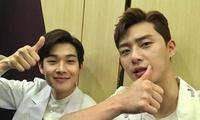 """Netizen nháo nhào khi một trai đẹp nổi tiếng công khai nói """"I Love You"""" với Park Seo Joon"""