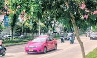 """Bangkok """"sống chung với dịch"""": Quán ăn vỉa hè mở lại, trung tâm thương mại căng biển sale"""