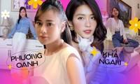 Khả Ngân (11 Tháng 5 Ngày) và Phương Oanh (Hương Vị Tình Thân), ai ghi điểm khi đổi style?