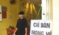 Quận, huyện nào ở Hà Nội được bán hàng mang về từ 12h trưa ngày 16/9?