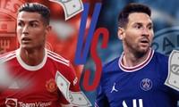 """Những cầu thủ """"bỏ túi"""" nhiều nhất năm 2021: Cristiano Ronaldo có """"lật đổ"""" Lionel Messi?"""