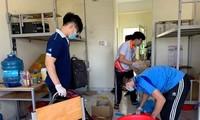 50.000 thùng carton đóng đồ cho sinh viên ký túc đón người cách ly Covid-19