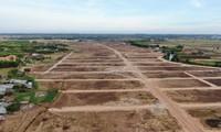 Cận cảnh khu đất ở Bà Rịa-Vũng Tàu đang bị kiểm tra vì bán đất nền kiểu Alibaba