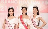 Top 3 Hoa Hậu Việt Nam 2020 lần đầu xuất hiện sau đăng quang, sẵn sàng giao lưu trực tuyến