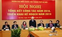Tổng Bí thư, Chủ tịch nước Nguyễn Phú Trọng dự hội nghị tổng kết công tác năm 2018, triển khai kế hoạch năm 2019 của Đoàn ĐBQH thành phố Hà Nội