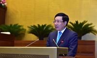 Phó Thủ tướng, Bộ trưởng Ngoại giao Phạm Bình Minh. Ảnh: Như Ý