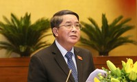 Chủ nhiệm Uỷ ban Tài chính ngân sách của Quốc hội Nguyễn Đức Hải. Ảnh: Như Ý