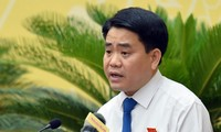 Chủ tịch UBND thành phố Hà Nội Nguyễn Đức Chung - Ảnh: Zing.
