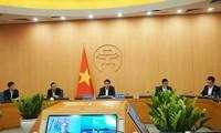 Chủ tịch UBND thành phố Hà Nội Nguyễn Đức Chung chia sẻ kinh nghiệm phòng chống COVID-19