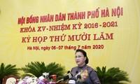 Chủ tịch Quốc hội Nguyễn Thị Kim Ngân phát biểu tại Kỳ họp