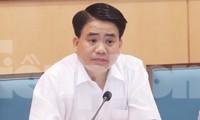 Chủ tịch UBND thành phố Hà Nội Nguyễn Đức Chung