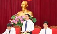 Chủ tịch UBND tỉnh Yên Bái Đỗ Đức Duy. Ảnh: Như Ý
