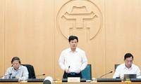 Phó Chủ tịch UBND thành phố Hà Nội Ngô Văn Quý kết luận cuộc họp