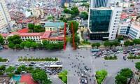 Đường Huỳnh Thúc Kháng kéo dài bắt đầu từ đoạn giao với đường Nguyễn Chí Thanh