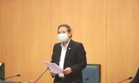 Phó Giám đốc Sở Y tế Hà Nội Hoàng Đức Hạnh. Ảnh: PV