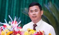 Ông Trần Việt Cường, Tỉnh ủy viên, Chánh Văn phòng UBND tỉnh Vĩnh Phúc được bổ nhiệm giữ chức vụ Chánh Văn phòng Tỉnh ủy Vĩnh Phúc. Ảnh: PV