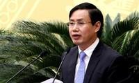 Ông Nguyễn Văn Tứ, nguyên Chánh văn phòng Thành uỷ Hà Nội, bị đề nghị khai trừ ra khỏi Đảng