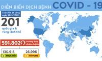 Mỹ vượt ngưỡng 100.000 ca nhiễm virus SARS - Cov - 2