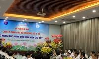Gương mặt trẻ Việt Nam tiêu biểu trở thành Phó Giám đốc Bệnh viện Chợ Rẫy