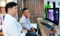 Anh Lê Văn Mến được các chuyên gia y tế hàng đầu điều trị (ảnh: BVCC)