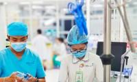 BV Nhi đồng Thành phố cứu sống bệnh nhi bị sốc sốt huyết Dengue (ảnh: BVCC)