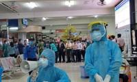 Xét nghiệm COVID-19 diện rộng tại TPHCM ở các khu nhà trọ, chợ, bến xe... (ảnh:HCDC)